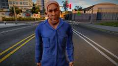 Jason Part 5 Skin (unmask) для GTA San Andreas