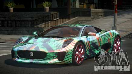 Jaguar C-X75 US S5 для GTA 4