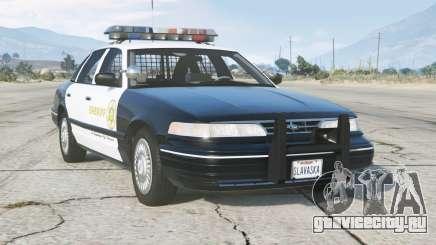 Ford Crown Victoria P71 LA County Sheriffs Department 1997〡add-on для GTA 5