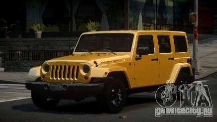 Jeep Wrangler US для GTA 4