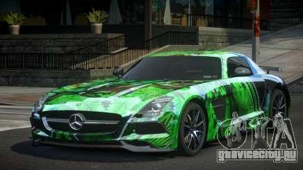 Mercedes-Benz SLS BS S4 для GTA 4