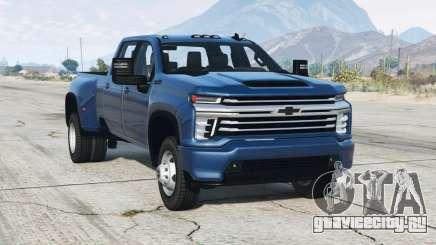 Chevrolet Silverado 3500 HD High Country Crew Cab 2020〡add-on v1.5 для GTA 5