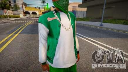 Real Rimmers Varsity Jacket для GTA San Andreas