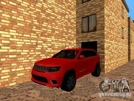 Jeep Grand Cherokee Trackhawk Supercharged для GTA San Andreas