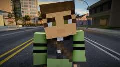 Rebel - Half-Life 2 from Minecraft 4 для GTA San Andreas