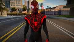 Miles Morales Suit 19 для GTA San Andreas
