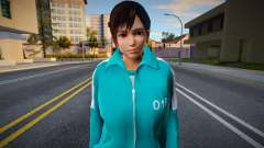 DOA Kokoro Fashion Casual Squid Game N018 для GTA San Andreas