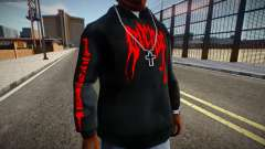 XXXTENTACION Revenge Hoodie для GTA San Andreas