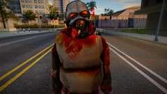 Zombie Soldier 5 для GTA San Andreas