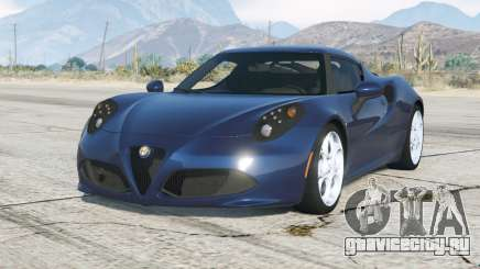 Alfa Romeo 4C (960) 2014〡add-on для GTA 5