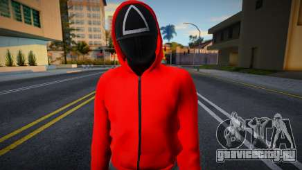 Male Random Guard N2 Squid Game для GTA San Andreas