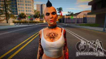 Angel from Dead Rising для GTA San Andreas