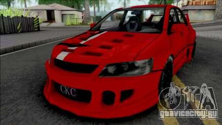 Mitsubishi Lancer Evolution (NFS Carbon Kenji) для GTA San Andreas