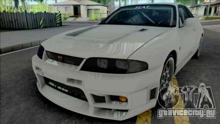 Nissan Skyline GT-R BCNR33 Wangan Midnight для GTA San Andreas