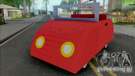 Peppa Pig Car для GTA San Andreas
